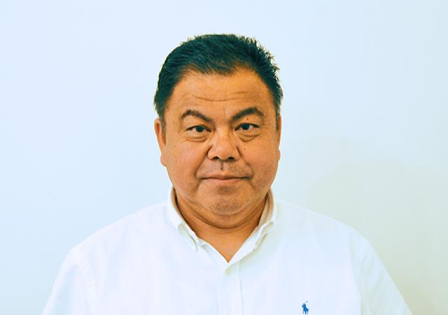 代表理事の顔写真